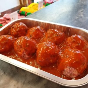Oven Ready Meatballs in Tomato & Herb Sauce