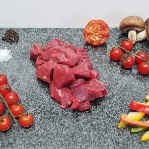 95% Lean Diced Steak
