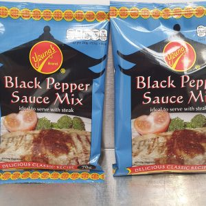Yeung's Black Pepper Sauce Mix